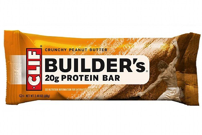 Clif Builders Protein Bars (Box of 12) Crunchy Peanut Butter