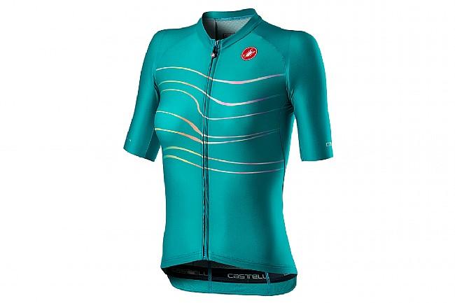 Castelli Womens Aero Pro Jersey Turqoise Green