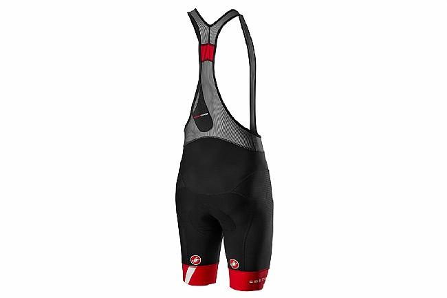 Castelli Mens Free Aero Race 4 Bibshort Kit Version Black/Red
