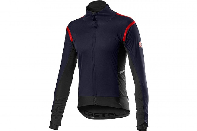 Castelli Mens Alpha RoS 2 Jacket Savile Blue