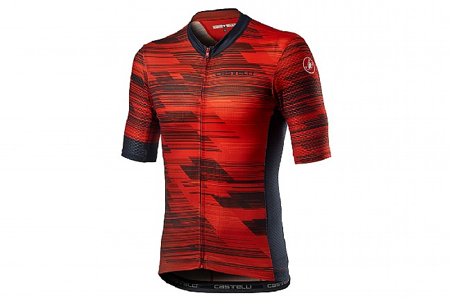 Castelli Mens Rapido Jersey Red