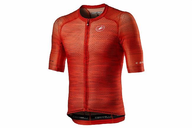 Castelli Mens Climbers 3.0 SL Jersey Fiery Red