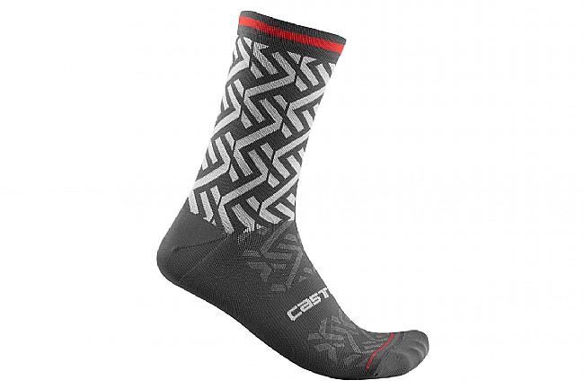 Castelli Tiramolla 15 Sock Dark Grey