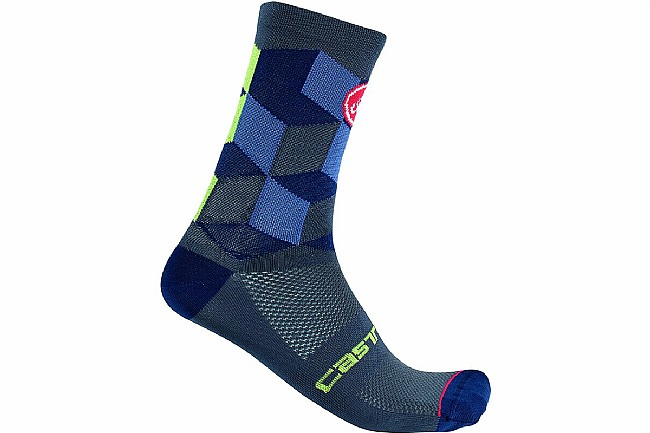 Castelli Unlimited 15 Sock Dark Steel Blue