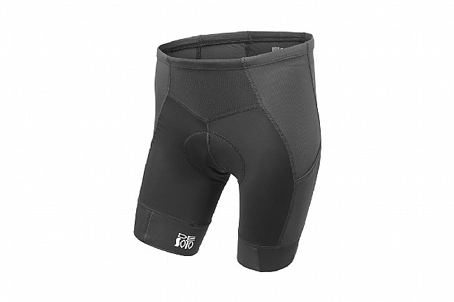 De Soto Mens 400 Mile Cycling Short Black