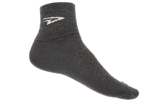 DeFeet Wooleator 3 Inch Sock Charcoal