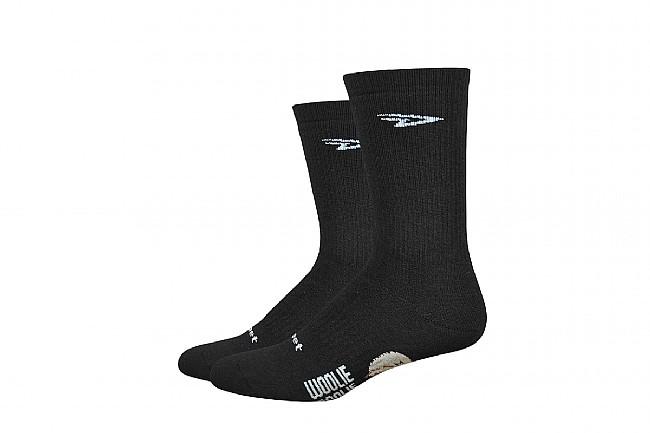 DeFeet Woolie Boolie Comp 6 Inch Sock Black