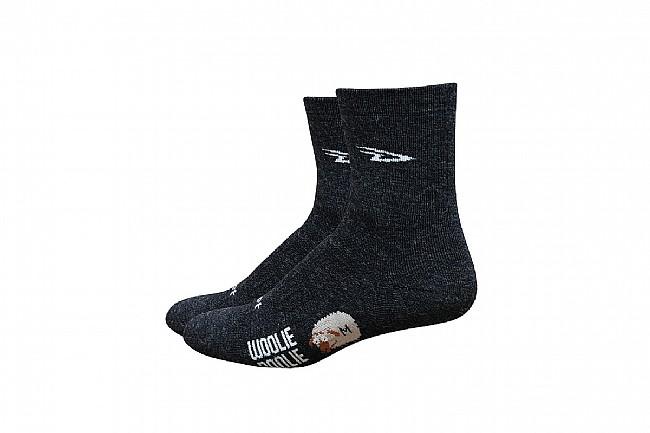 DeFeet Woolie Boolie 4 Inch Sock Charcoal