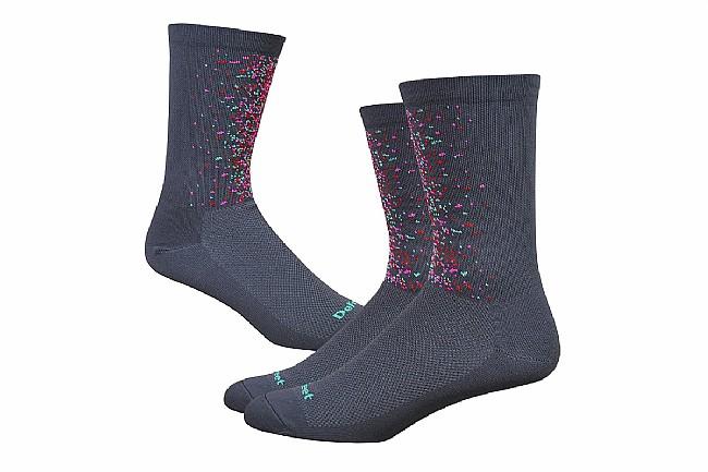 DeFeet Aireator 6 Inch Sock - Barnstormer Collection Splatter