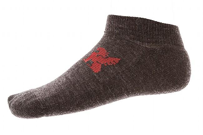 Chrome Ankle Merino Wool Sock Charcoal
