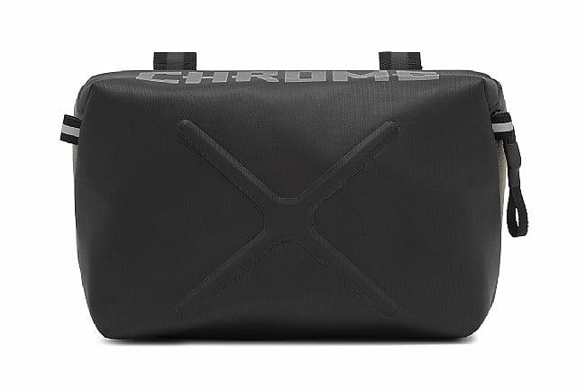 Chrome Helix Handlebar Bag Black