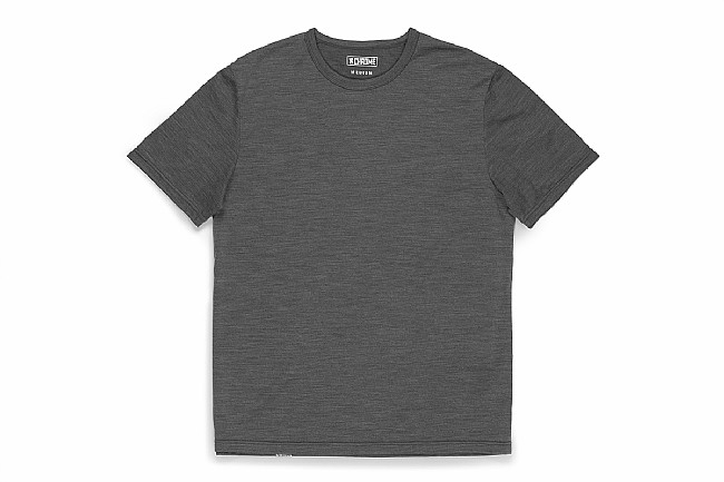 Chrome Mens Merino Short Sleeve T-Shirt Charcoal