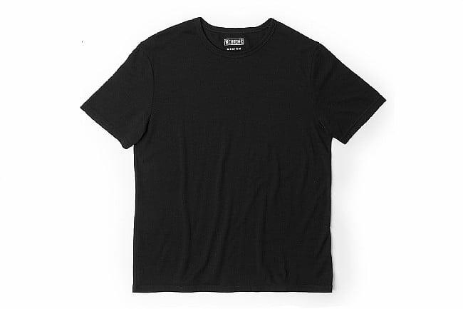 Chrome Mens Merino Short Sleeve T-Shirt Black