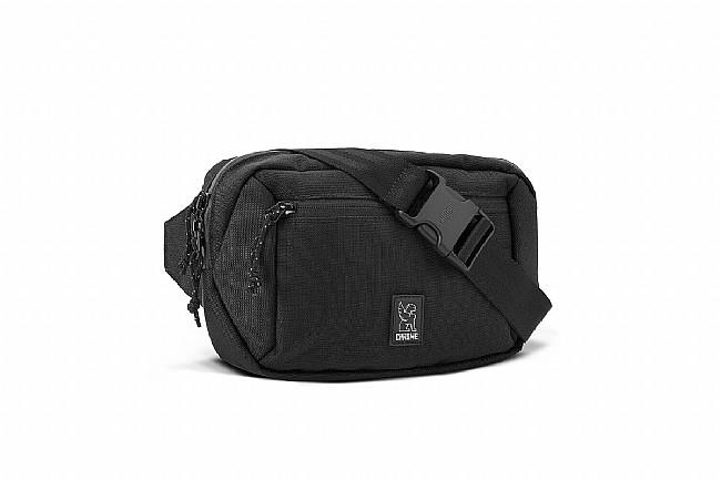 Chrome Ziptop Waistpack Black