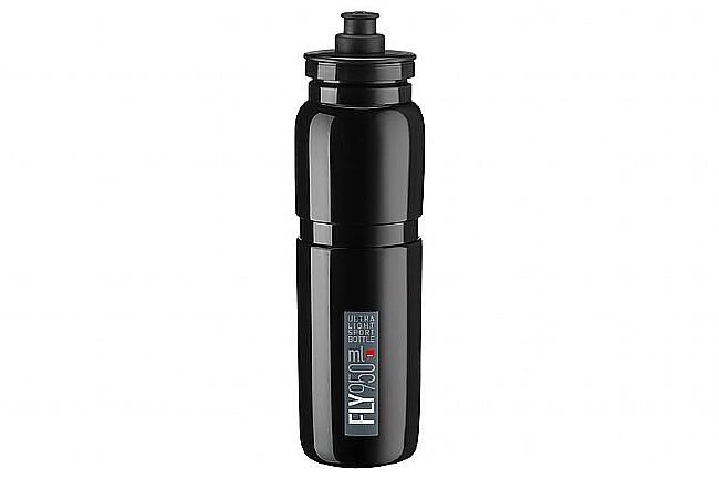 Elite Fly Bottle (950ml) Black w/ Grey Logo