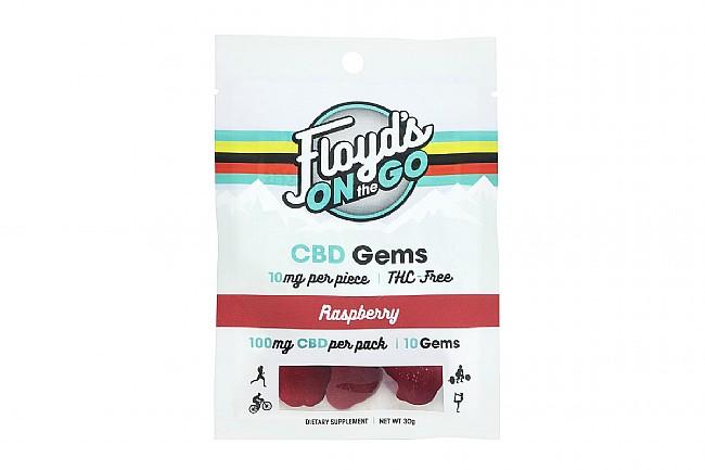 Floyds of Leadville CBD Gems 100mg Total (10 Servings) Raspberry