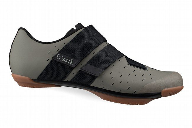Fizik Terra Powerstrap X4 Gravel Shoe Mud/Caramel
