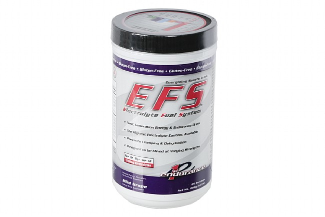 First Endurance Electrolyte Fuel System (25 Servings) Grape