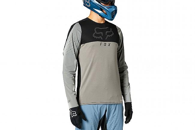 Fox Racing Mens Flexair Delta LS Jersey Pewter