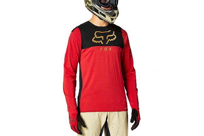 Fox Racing Mens Flexair Delta LS Jersey Chili
