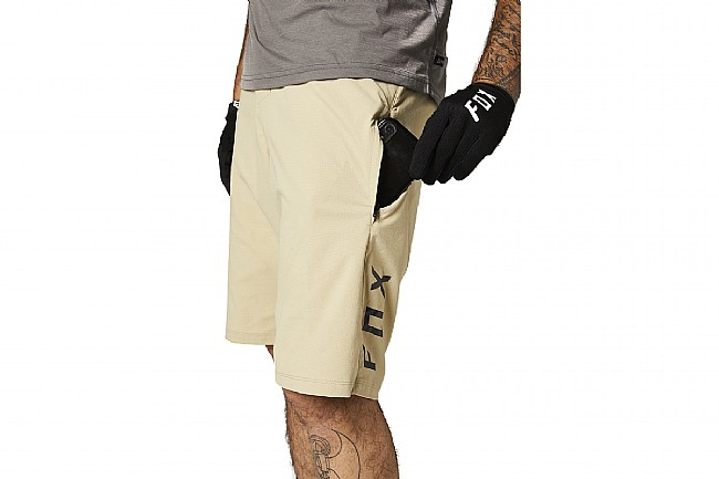 Fox Racing Mens Ranger Short w/ Liner Tan