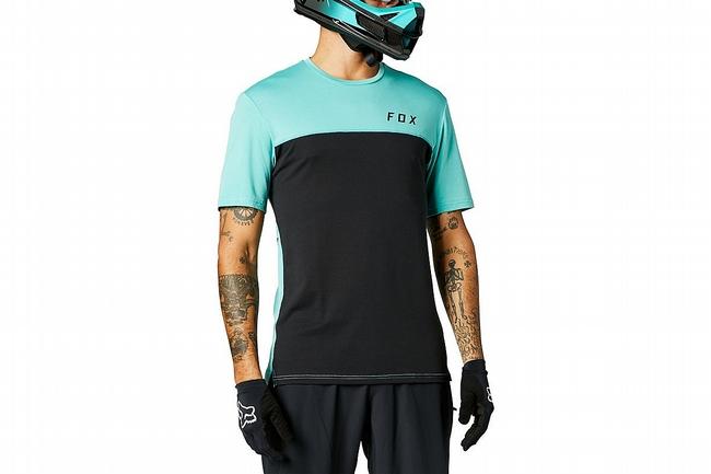 Fox Racing Mens Flexair Delta SS Jersey Black