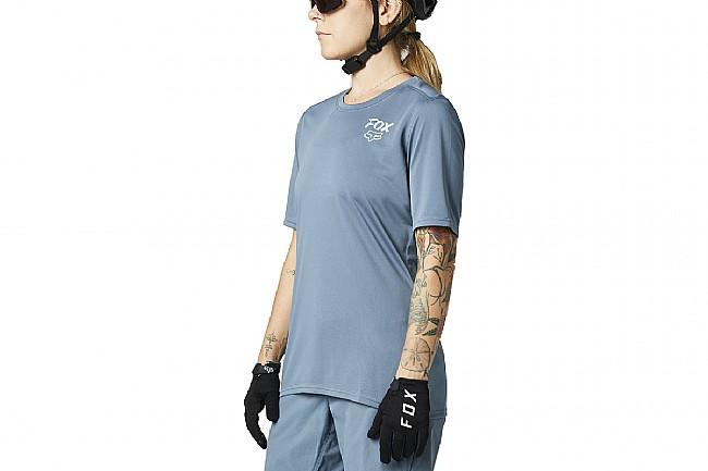 Fox Racing Womens Ranger SS Jersey Mt Blue