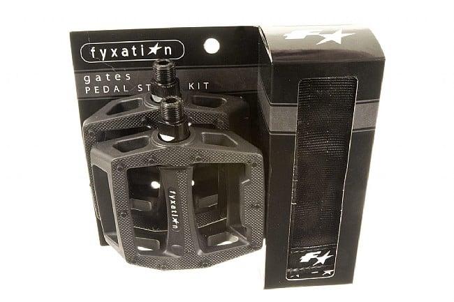 Fyxation Gates Platform Pedal and Strap Kit Fyxation Gates Platform Pedal and Strap Kit