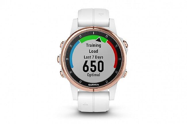 Garmin Fenix 5S Plus Sapphire Rose Gold GPS Watch Garmin Fenix 5s PLUS Sapphire Rose Gold GPS Watch