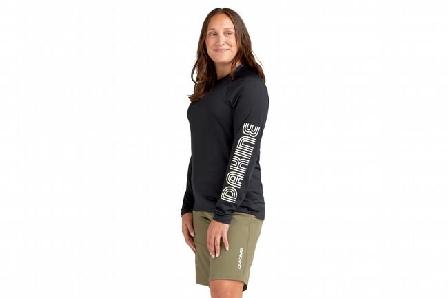 Dakine Womens Vectra Long Sleeve Bike Jersey Black