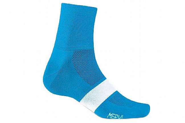 Giro Classic Racer Sock Blue Jewel/White