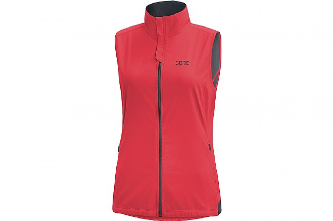 Gore Wear Womens R3 Windstopper Vest Hibiscus Pink