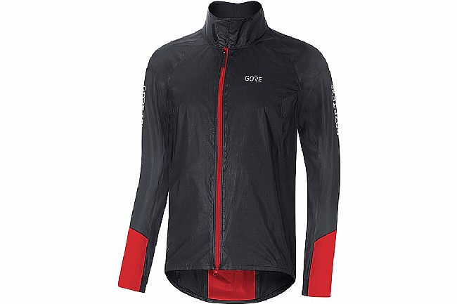 Gore Wear Mens C5 Gore-Tex Shakedry 1985 Viz Jacket Black/Red