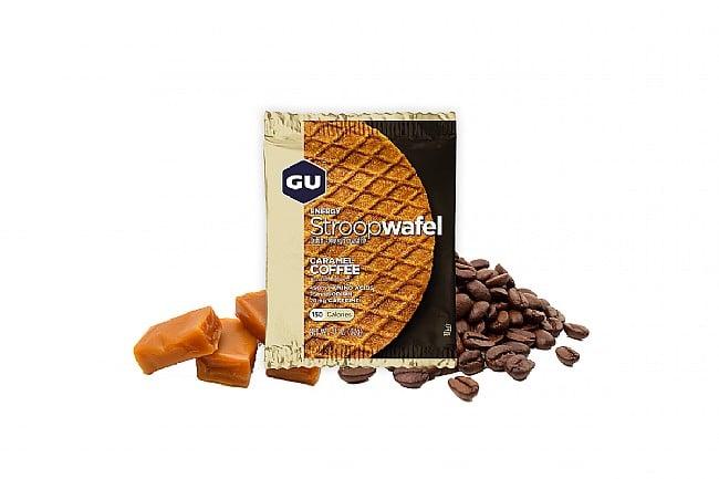 GU Energy Stroopwafel (Box of 16) Caramel Coffee