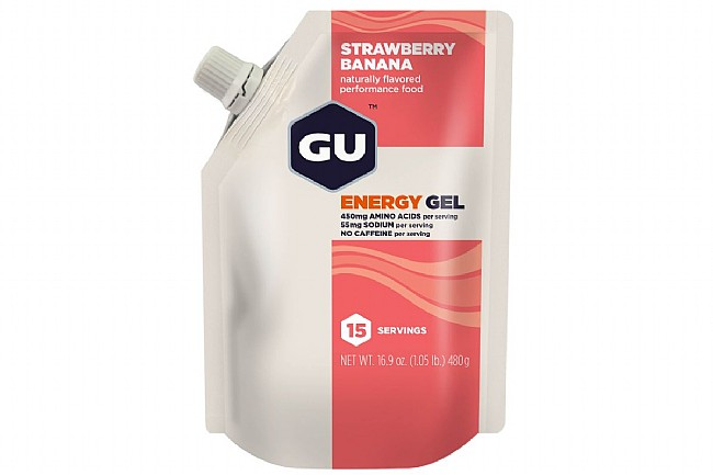 GU Energy Gel (15 Servings) Strawberry/Banana