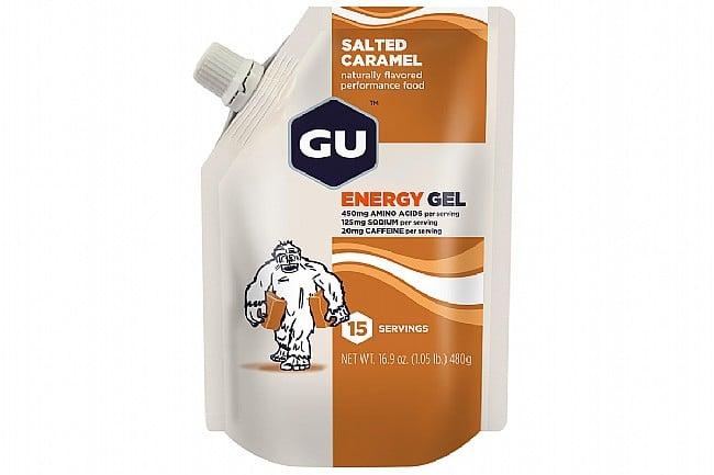GU Energy Gel (15 Servings) Salted Caramel