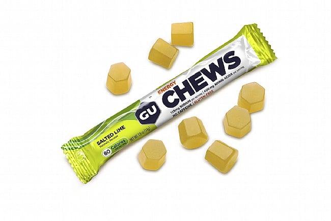GU Energy Chews (Box of 18) Salted Lime