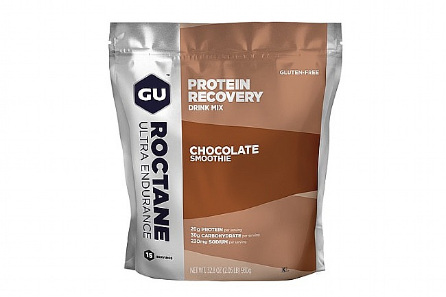 GU Roctane Protein Recovery (15 Servings) Chocolate Smoothie