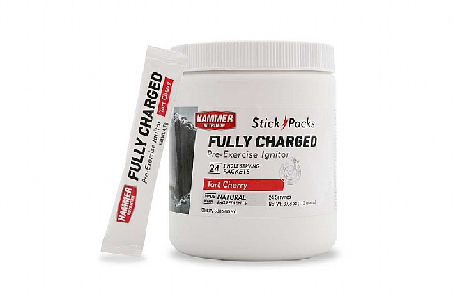 Hammer Nutrition Fully Charged 24 Stick Packs