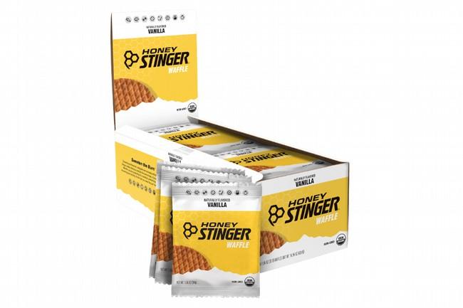 Honey Stinger Gluten Free Organic Waffles (Box of 16) Vanilla Chocolate