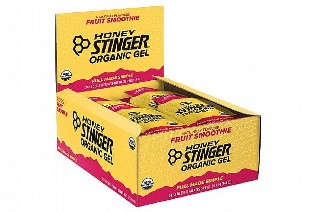 Honey Stinger Organic Energy Gels (Box of 24) Fruit Smoothie