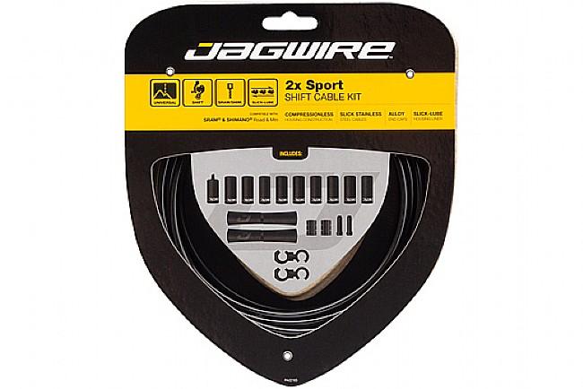 Jagwire 2x Sport Shift Cable Kit SRAM/Shimano Black
