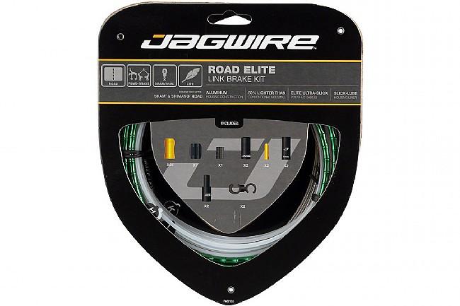 Jagwire Road Elite Link Brake Kit Limited Green