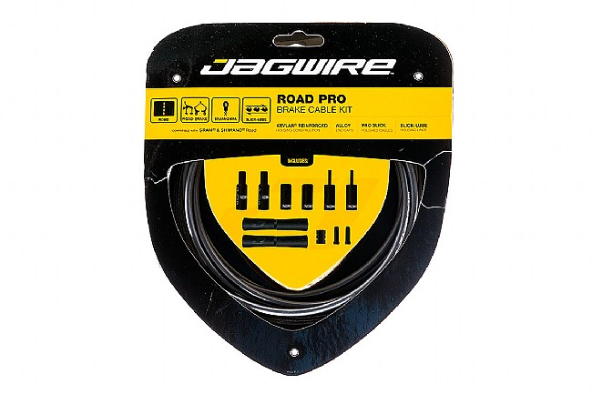 Jagwire Pro Polished Brake Cable Kit Ice Gray - Sram/Shimano