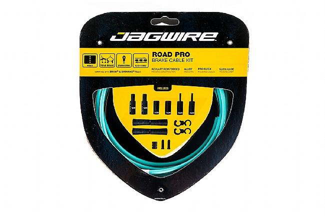Jagwire Pro Polished Brake Cable Kit BIANCHI CELESTE - Sram/Shimano
