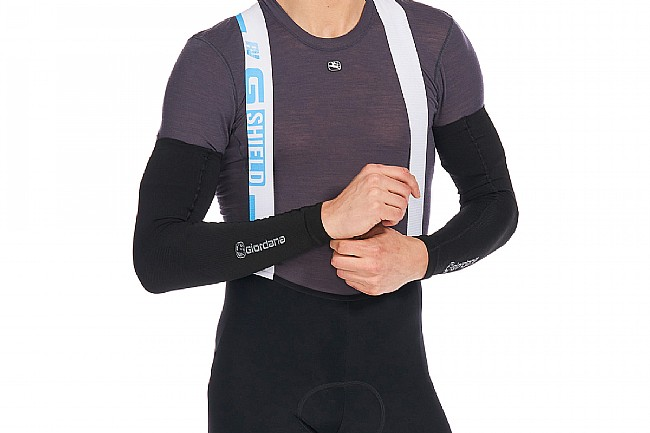 Giordana Lightweight Knitted Dryarn Arm Warmer Black
