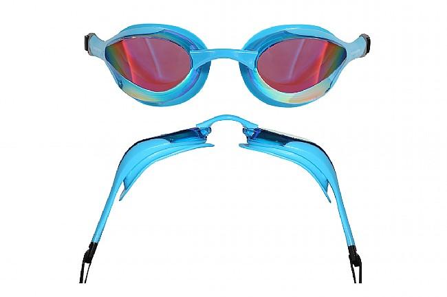 Blueseventy Contour Mirrored Goggle Aqua/Rainbow