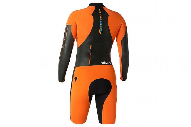 Blueseventy Womens Alliance SwimRun Suit Black/Orange