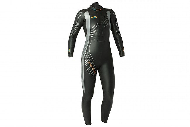 Blueseventy Womens Thermal Reaction Wetsuit (2021) Black/SIlver