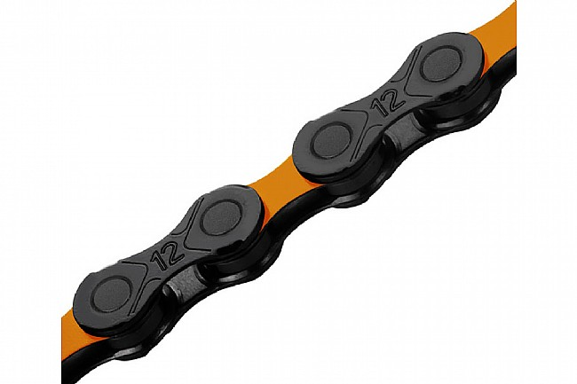 KMC DLC 12x126 MTB Chain Orange